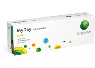 CooperVision MyDay Toric 30 Lenses